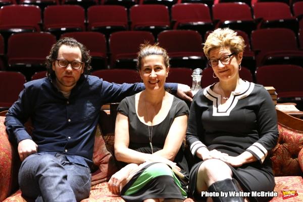 Sam Gold, Jeanine Tesoi and Lisa Kron