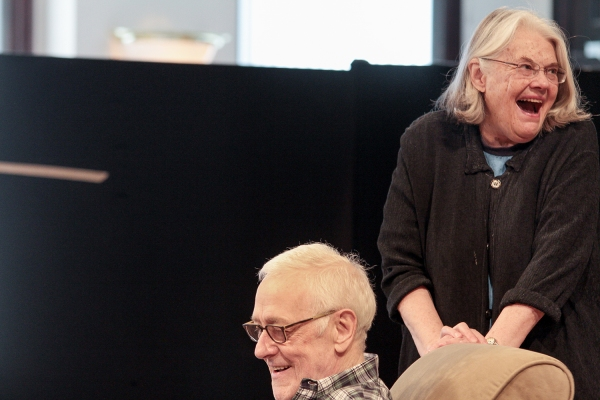 Photo Flash: In Rehearsal for Steppenwolf's THE HERD with Audrey Francis, Lois Smith, Frank Galati and More