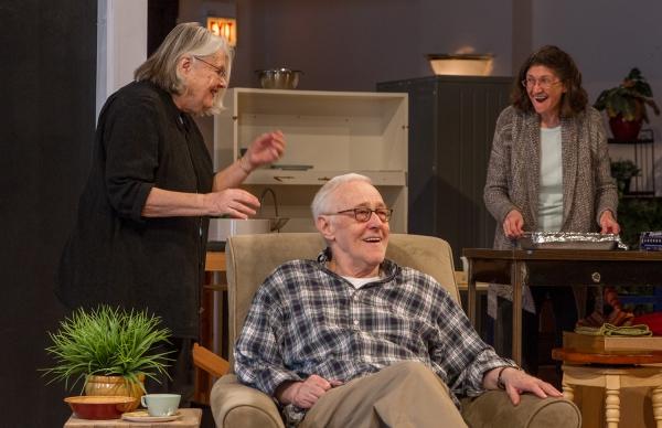 Ensemble members Lois Smith, John Mahoney and Molly Regan  Photo