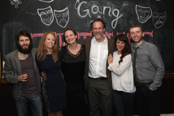 Cast members MacLeod Andrews, Sarah Shaefer, Addie Johnson, John Wojda, Samantha Soule and Chris Bellant