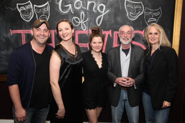 Director Daniel Talbot, Addie Johnson, Playwright Charlotte Miller, Producer David Van Asselt, Rattlestick Playwrights Theatre and Producer Wendy vanden Heuvel, Weathervane Productions