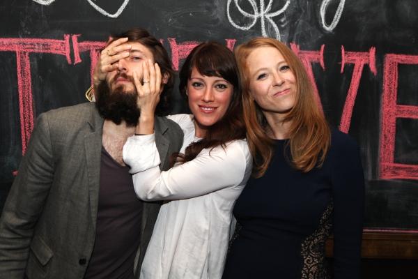 Cast members MacLeod Andrews, Samantha Soule and Sarah Shaefer