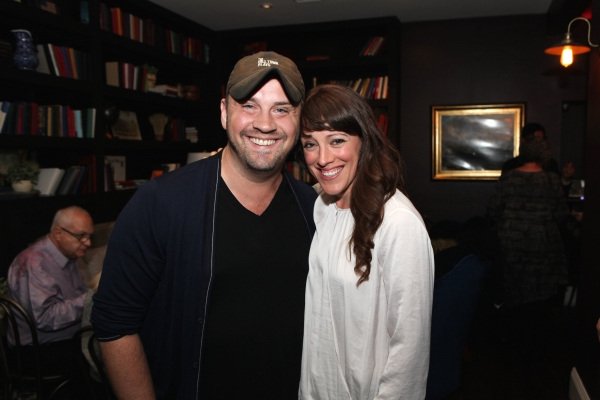 Director Daniel Talbot and cast member Samantha Soule