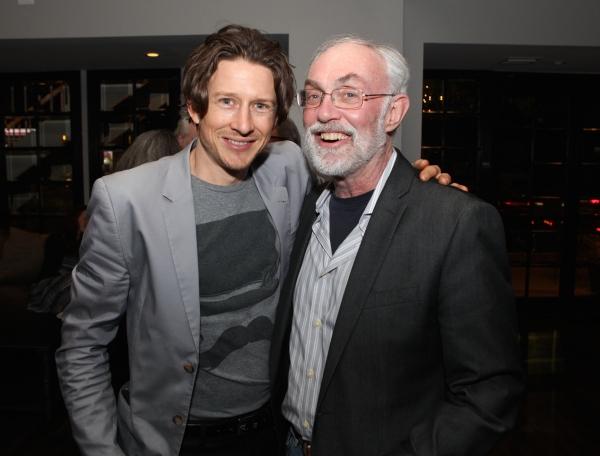 Actor Lukas Behnken and Producer David Van Asselt, Rattlestick Playwrights Theatre