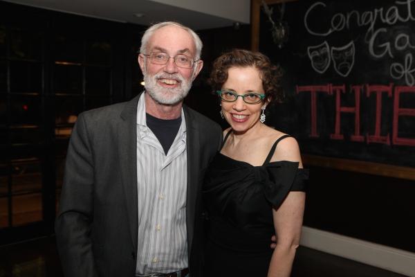 Producer David Van Asselt, Rattlestick Playwrights Theatre and publicist Lynn Tejada, Green Galactic