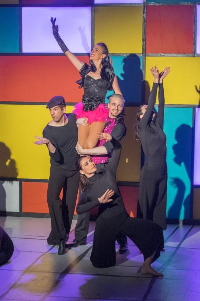 Photo Flash: First Look at stop/time dance theater's DIGITS...DIG IT! at Playhouse on Park