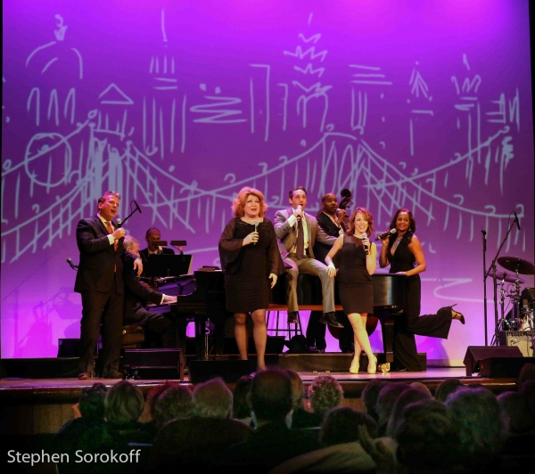 Billy Stritch, Klea Blackhurst, Jeffrey Schecter, Leslie Kritzer, La Tanya Hall