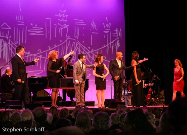 Billy Stritch, Klea Blackhurst, Jeffrey Schecter, Darius De Haas, La Tanya Hall, Deborah Grace Winer