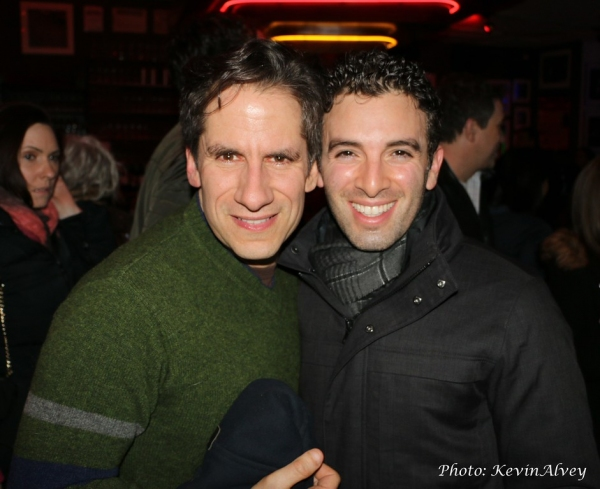 Seth Rudetsky and Jarrod Spector