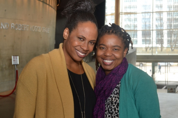 Director Kamilah Forbes and playwright Katori Hall