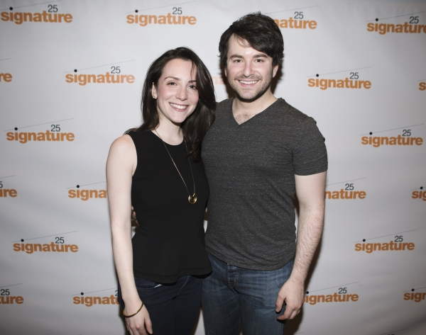 Jessica Hershberg and Alex Brightman