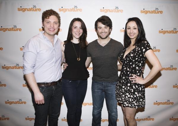Joshua Morgan, Jessica Hershberg, Alex Brightman and Natascia Diaz
