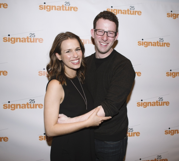 SOON creator Nick Blaemire with fiancee Ana Nogueira