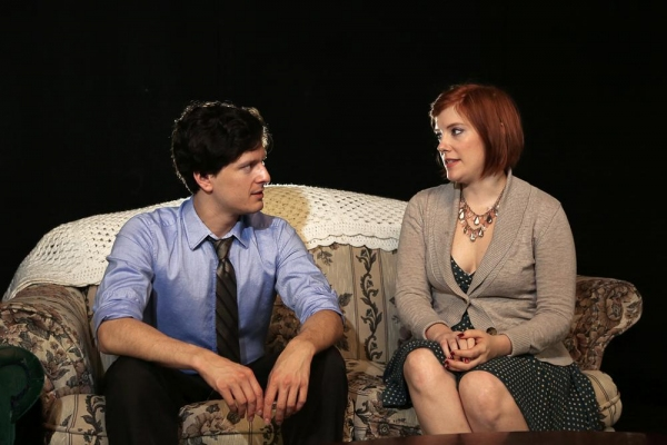 Nick (Louis Crespo) tries to explain his grandparents to Caitlin (Theresa Hunt).