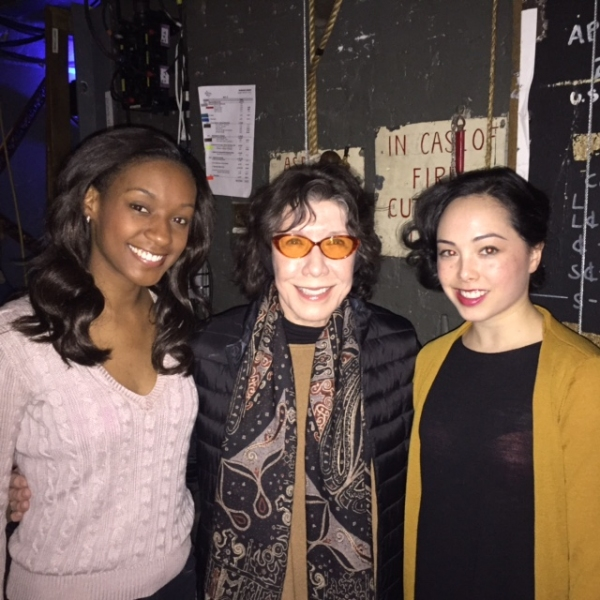 Photo Flash: Backstage at AN AMERICAN IN PARIS with Lily Tomlin and Denny Dillon!