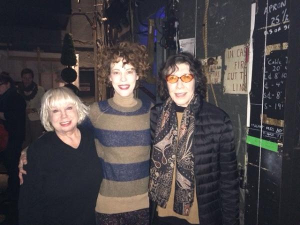 Denny Dillon, Veanne Cox, Lily Tomlin