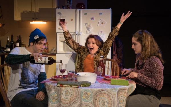 Oscar A.L. Cabrera as Gus Green, Charlotte Booker as Rebecca Green, Emma Meltzer as L Photo