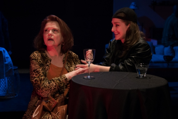 Charlotte Booker as Rebecca Green, Emma Meltzer as Gina Perez Photo
