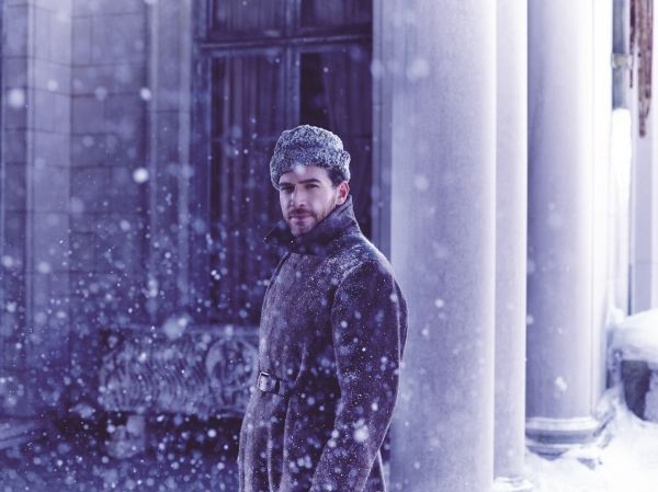 Photo Flash: DOCTOR ZHIVAGO Cast Bundles Up for Broadway; Rush Policy Announced!
