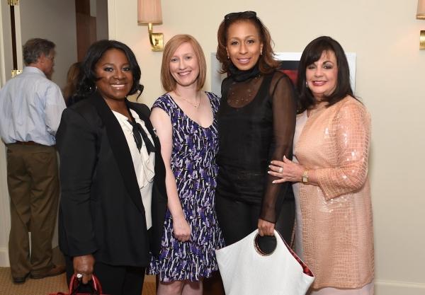 LaTanya Richardson Jackson, Heather Hitchens, Tamara Tunie and Charlotte St. Martin