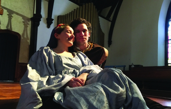 Emily Sucher (Jessica) and Brendan Edward Kennedy (Lorenzo) Photo