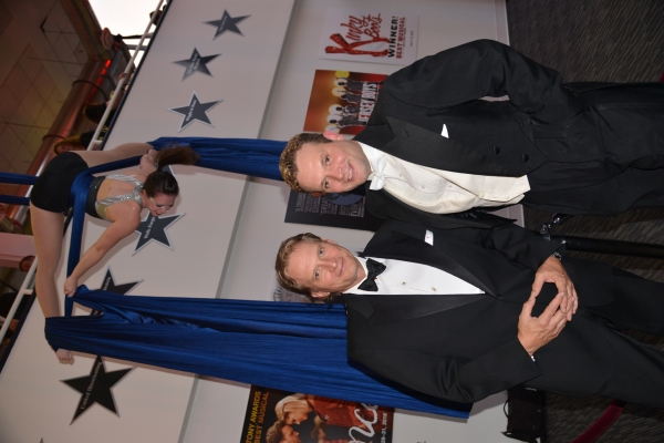 Rex Smith and Brandon Smith