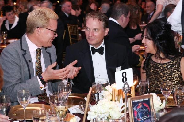 Michael Morand, Deputy Chief Communications Officer, Yale University; Rex Smith and T Photo