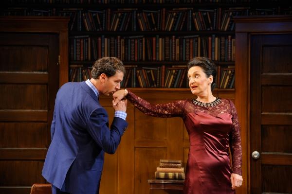 Mauro Hantman as Romain Tournel and Phyllis Kay as as Raymonde Chandebise