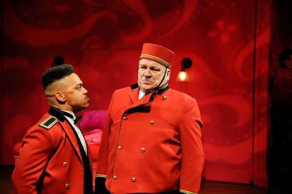 Joe Wilson, Jr. as Ferraillon and Fred Sullivan, Jr. as Pocket