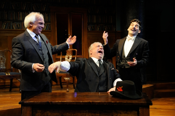 Richard Donnelly as Dr. Finache, Fred Sullivan, Jr. as Pocket and Peter Martin as Eti Photo