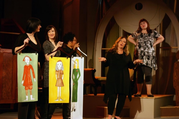 Photo Flash: First Look at First Folio Theatre's LOVE, LOSS AND WHAT I WORE