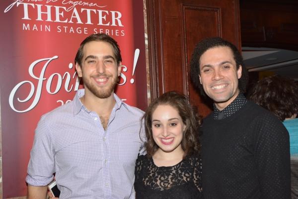 Nic Casaula, Sari Weinerman and Patrick Ball