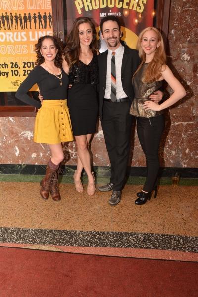 Maria Cristina Slye, Rachel Mare Bell, DJ Petrosino and Stephanie Israelson