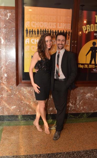 Rachel Marie Bell and DJ Petrosino