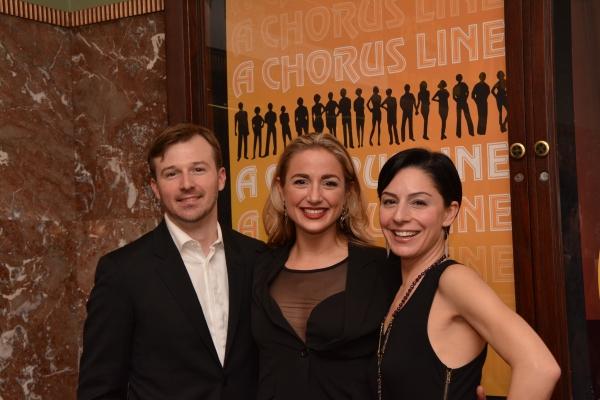 Drew Humphrey, Jessica Lee Goldyn and Dena DiGiacinto