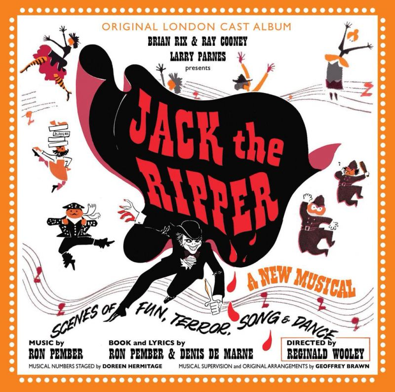 CD Reviews: Stage Door Records' JACK THE RIPPER (Original London ...