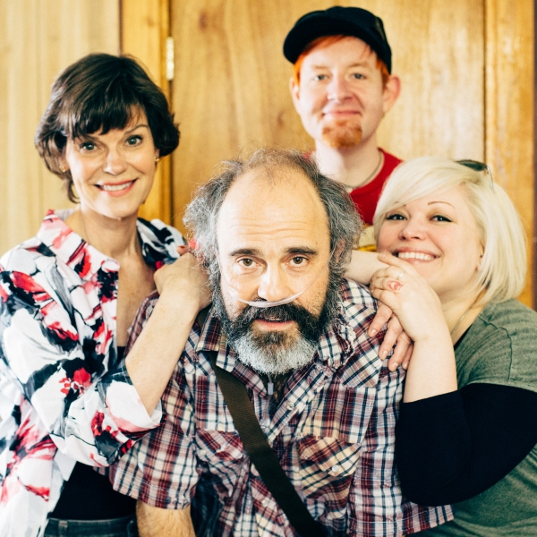 Clockwise: co-directors David Jenkins and Summer Bohnenkamp, Paul Potenza (Ulysses) a Photo