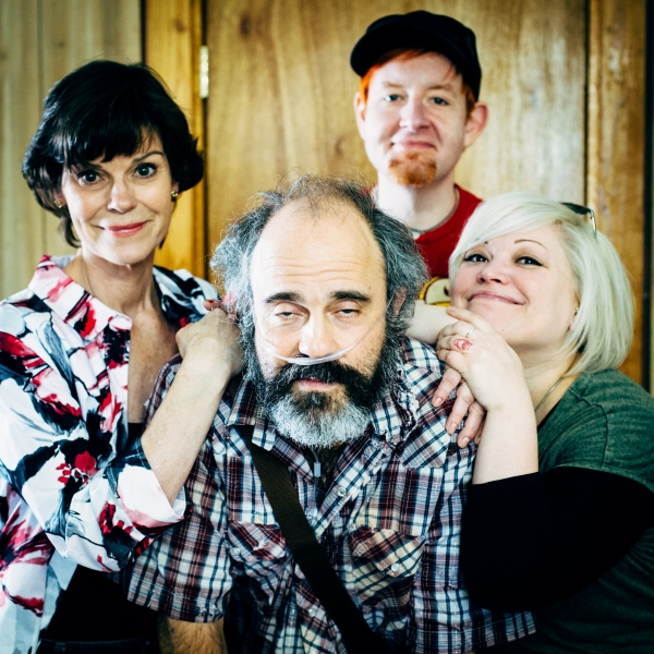 Clockwise: co-directors David Jenkins and Summer Bohnenkamp, Paul Potenza (Ulysses) and Angela Bond (Emma)