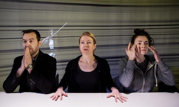 Photo Flash: Tarragon & Volcano's World Premiere of Hannah Moscovitch's INFINITY Opens Tonight