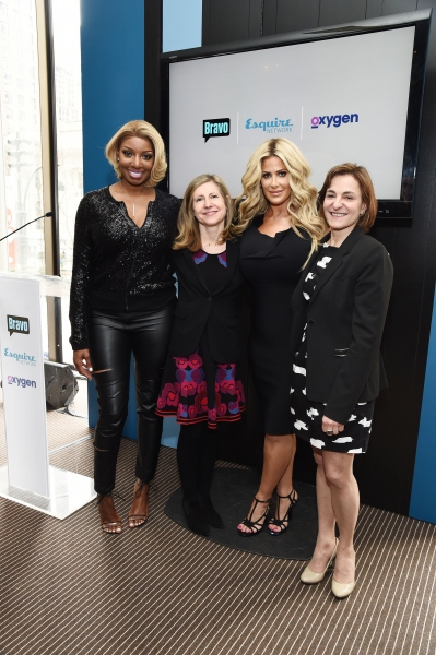 Frances Berwick, President, Lifestyle Networks, NBCUniversal Cable Entertainment, NeNe Leakes, Star of  Bravo''s upcoming series ''NeNe and Kim: Road to Riches'', Kim Zolciak Biermann, Star of Bravo''s upcoming series ''NeNe and Kim: Road to Riches'', Sha