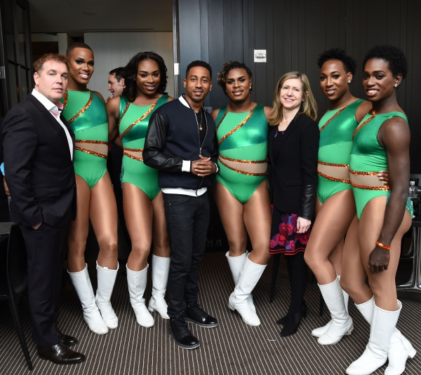 Rod Aissa, Executive Vice President, Original Programming and Development, Oxygen Media, The Prancing Elites, Stars of Oxygen''s ''The Prancing Elites Project'', Adrian Clemons, Timothy Smith, Brandon T. Jackson, Star of Oxygen''s ''Living With Funny'' an
