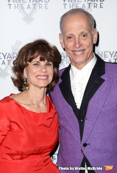 Margot Lion and John Waters