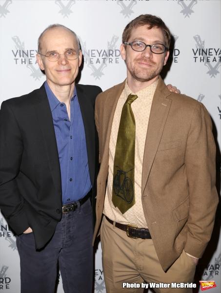 Zeljko Ivanek and Greg Pierce