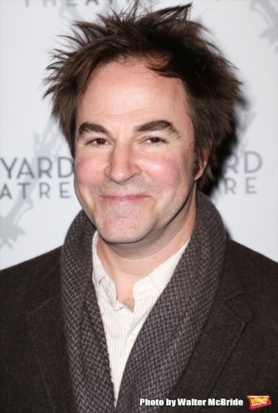 Roger Bart attends 2015 Vineyard Theatre Gala honoring Margo Lion at Edison Ballroom on March 30, 2015 in New York City.