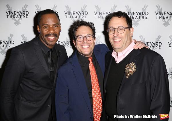 Colman Domingo, Michael Mayer and Tony Kushner