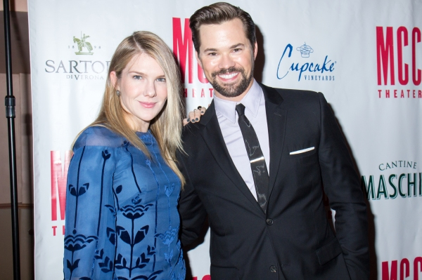 Lily Rabe, Andrew Rannells