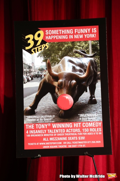 Photo Coverage: THE 39 STEPS Cast Prepares for Off-Broadway Return!