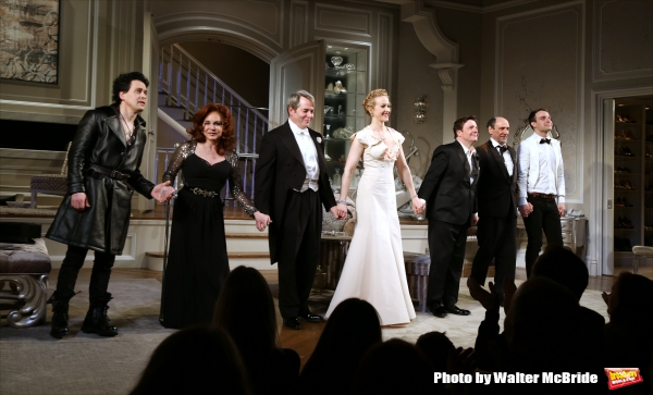 Photo Coverage: IT'S ONLY A PLAY Takes Bows with New Cast Members Nathan Lane and T.R. Knight!