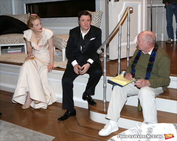 Katie Finneran, Nathan Lane and Jack O''Brien