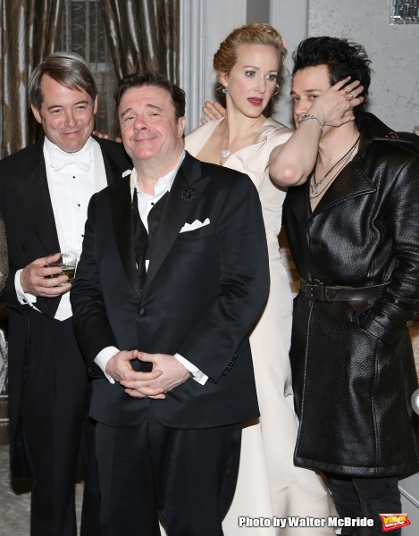 Matthew Broderick, Nathan Lane, Katie Finneran and T.R. Knight